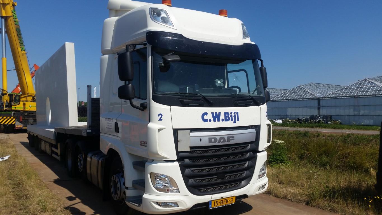 Transportbedrijf Bijl Betonelementen weg- en waterbouw