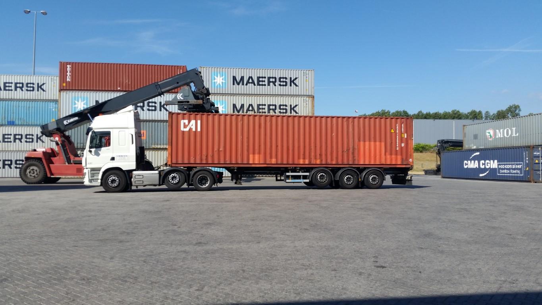 Transportbedrijf Bijl Container vervoer