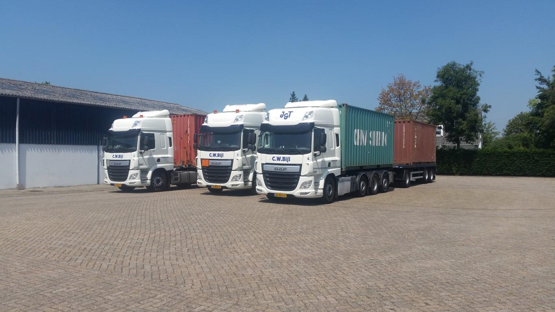 Transportbedrijf Bijl vervoer zeecontainers